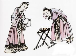 Maîtres chinois en étude Feng Shui
